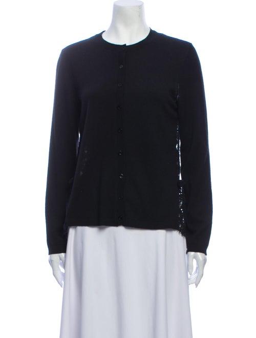 Valentino Crew Neck Sweater Black