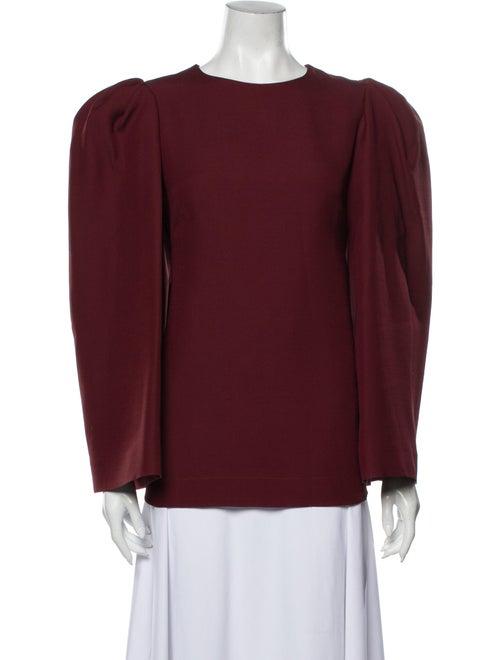 Valentino Virgin Wool Crew Neck Sweatshirt Wool