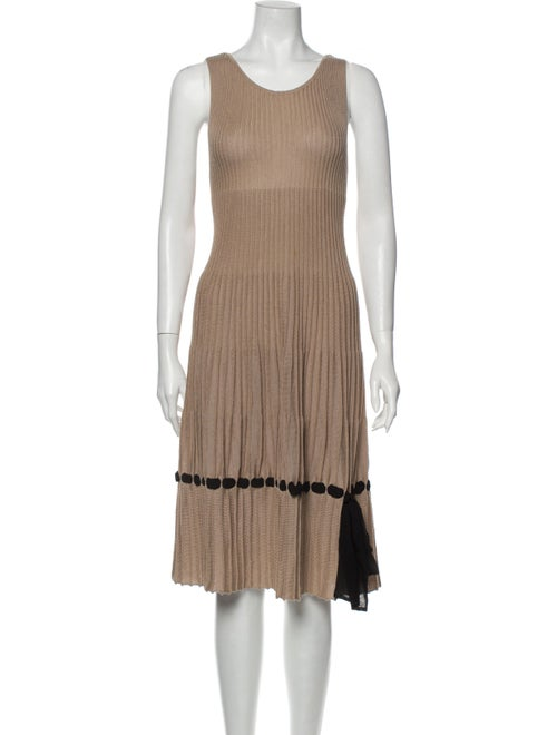 Valentino Silk Midi Length Dress