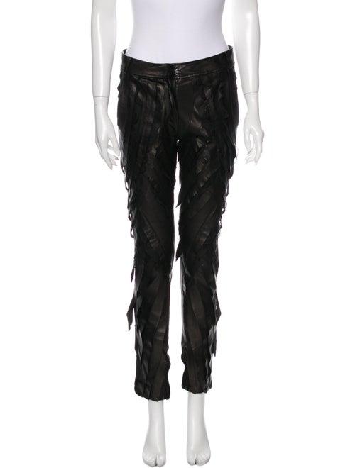 Valentino Skinny Leg Pants Black