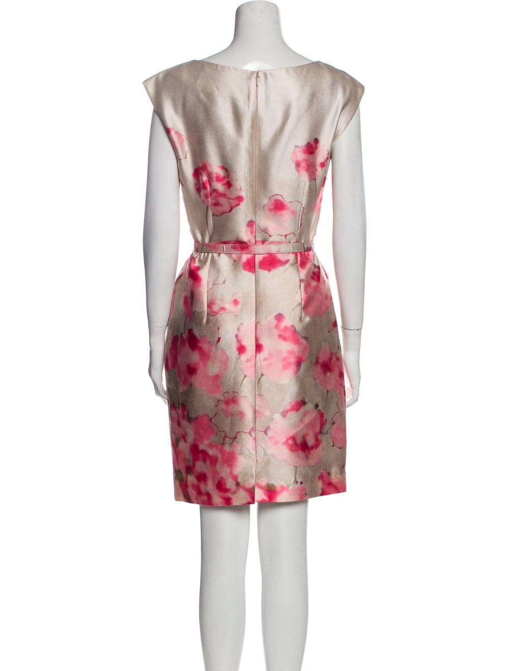 Valentino Silk Knee-Length Dress - image 3