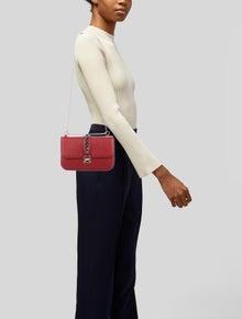 Valentino Medium Glam Lock Shoulder Bag