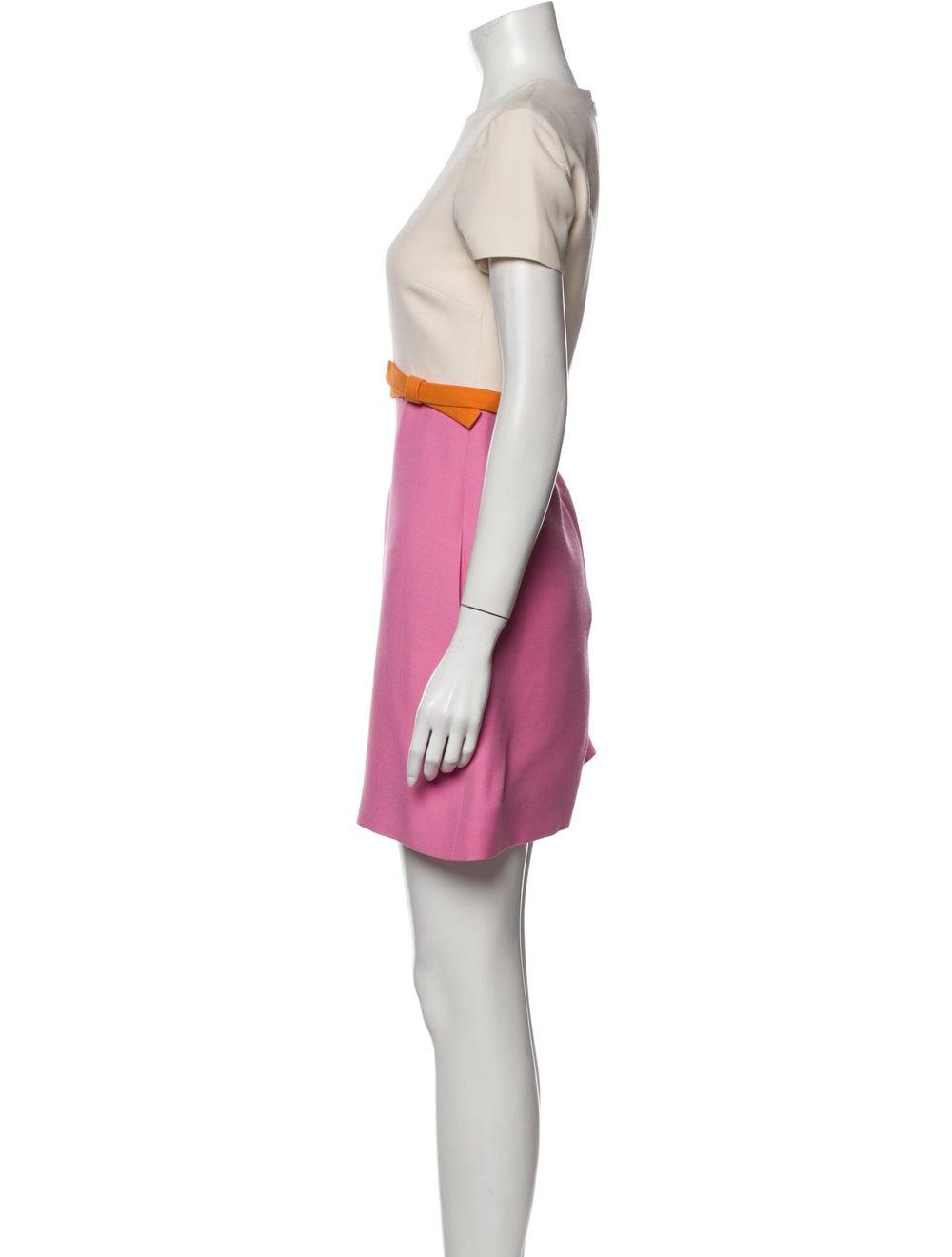 Valentino Wool Mini Dress Wool - image 2