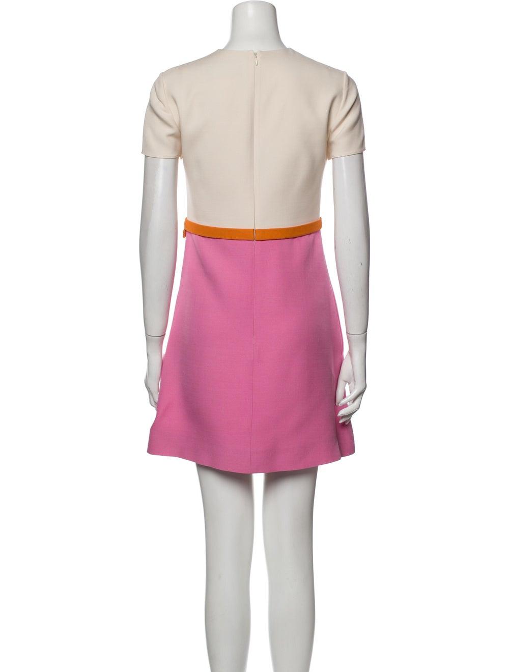 Valentino Wool Mini Dress Wool - image 3