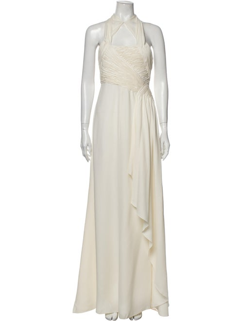 Valentino Silk Long Dress
