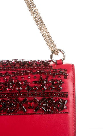 Glam Lock Flap Bag