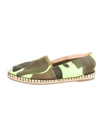Psychedelic Camo Flats