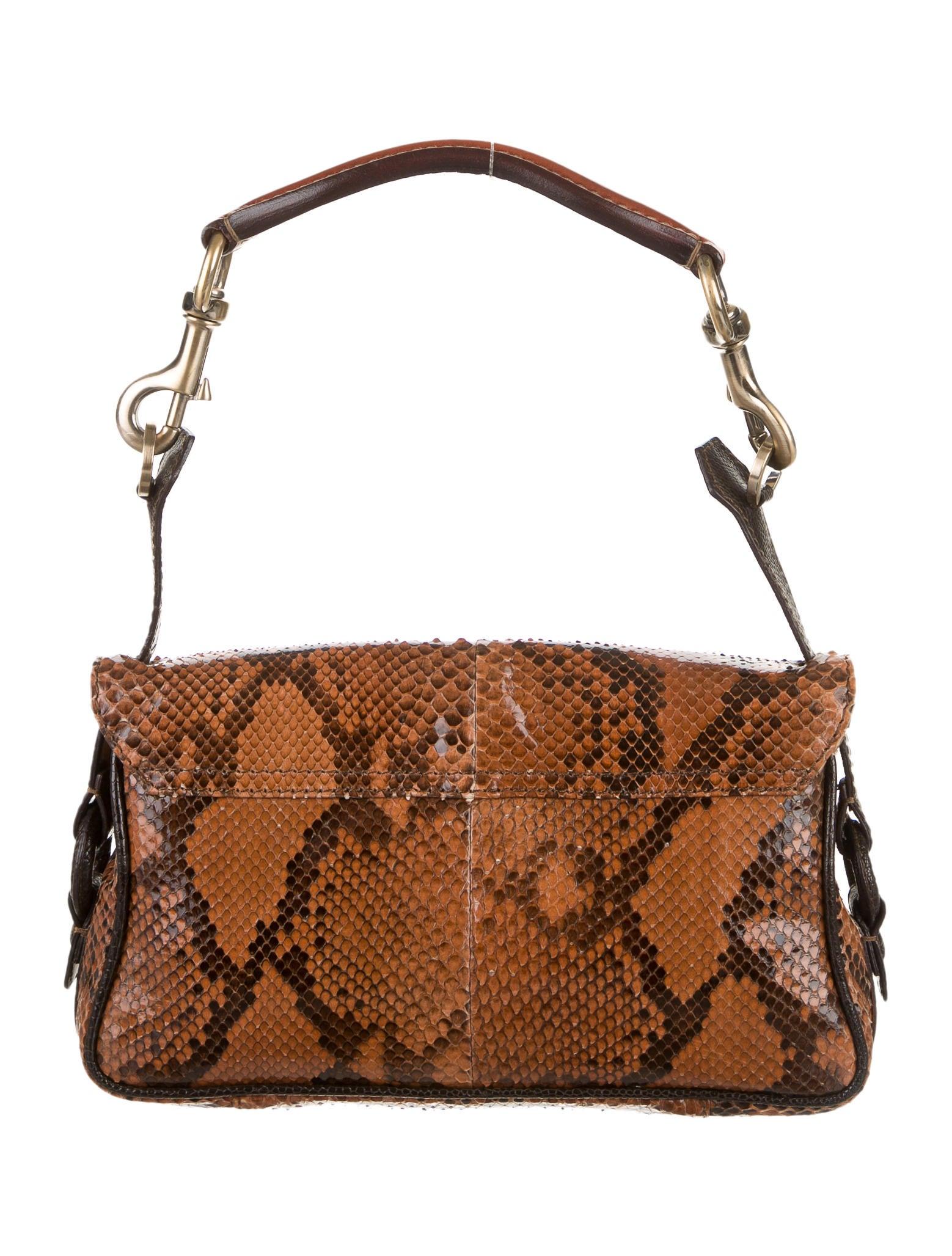Valentino Python Shoulder Bag Handbags Val34723 The