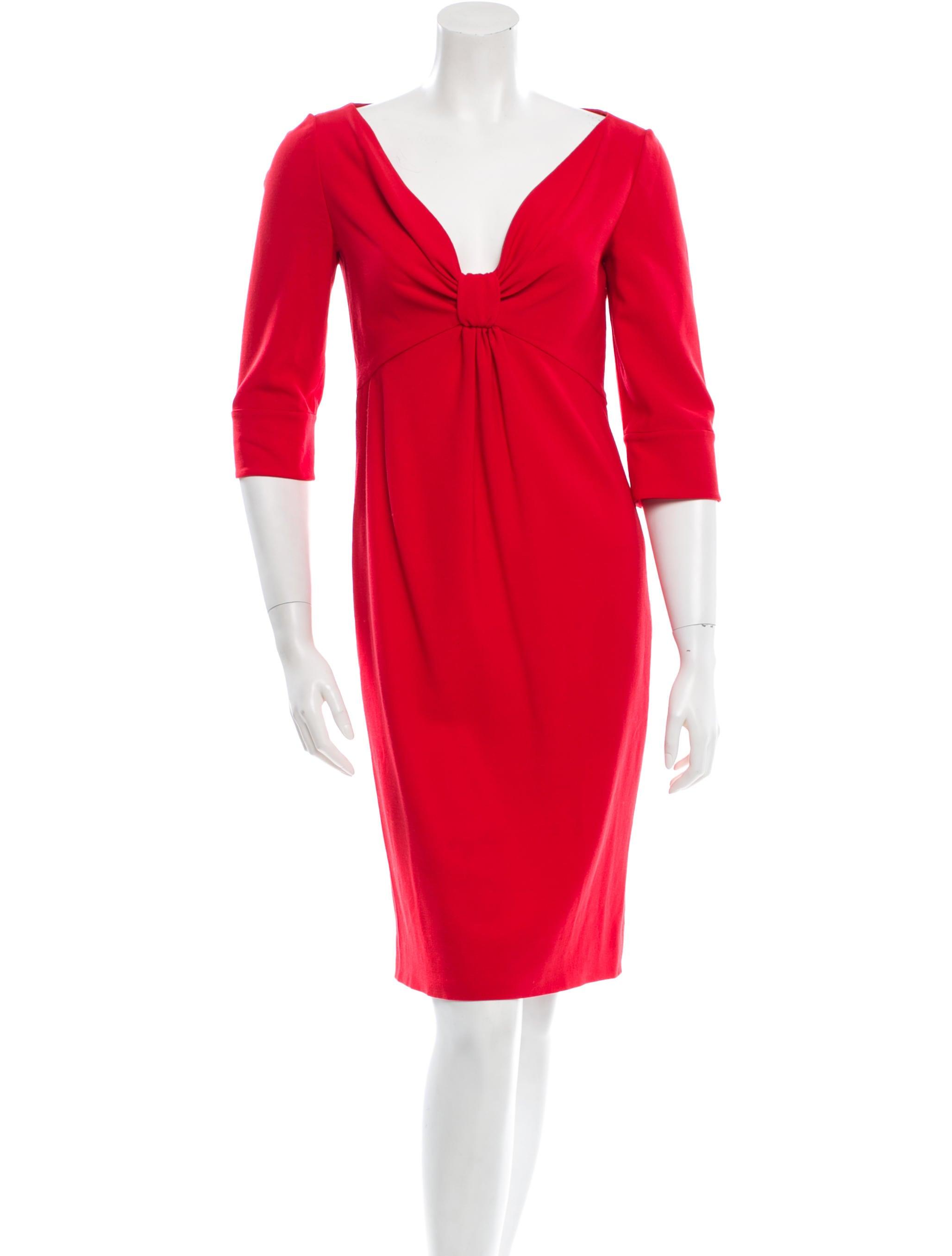 valentino sheath dress clothing val35938 the realreal