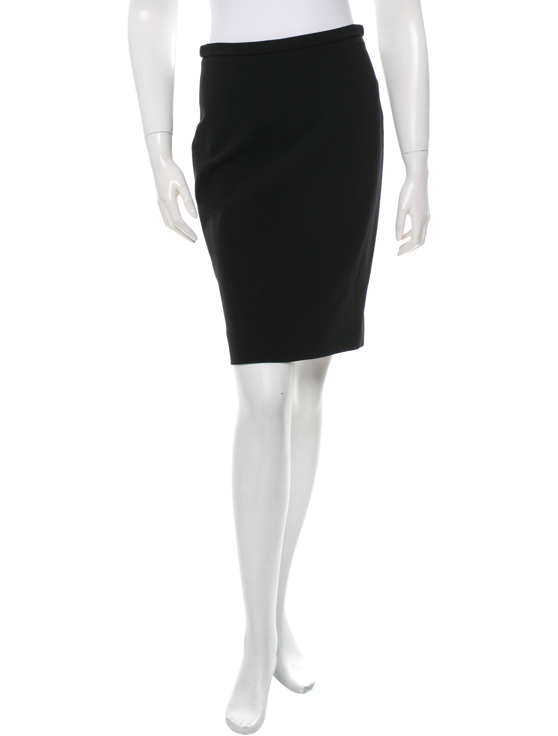 valentino classic pencil skirt clothing val37419 the