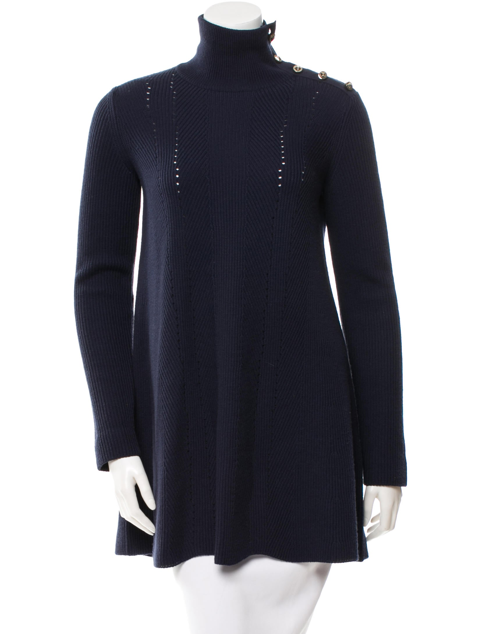 Valentino Wool Sweater Dress - Clothing - VAL38857 | The RealReal