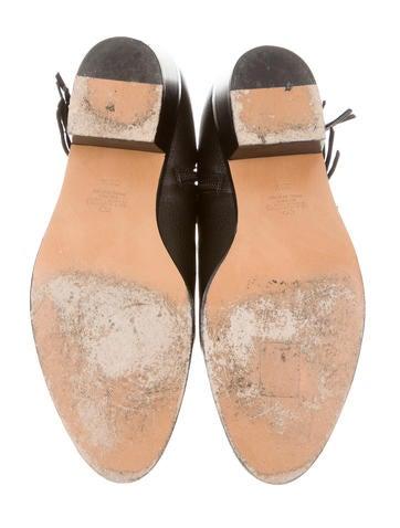 Fringe-Embellished Ankle Boots