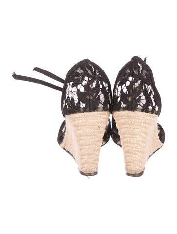 Lace d'Orsay Wedges