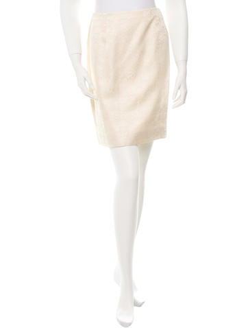 Valentino Floral Mini Skirt None
