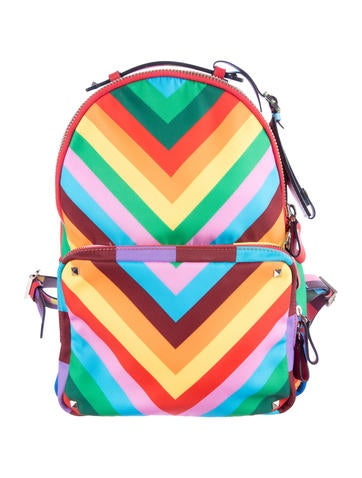 Resort 2015 Rockstud '1973 Rainbow' Backpack