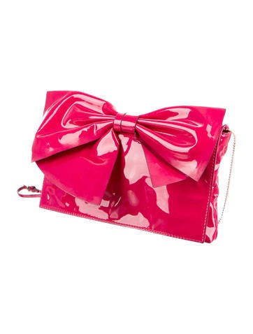 Lacca Bow Flap Bag