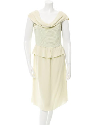 Valentino Off-The-Shoulder Cocktail Dress w/ Tags None