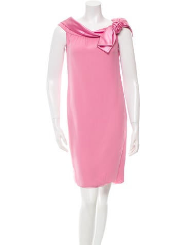 Valentino Off-The-Shoulder Shift Dress w/ Tags None