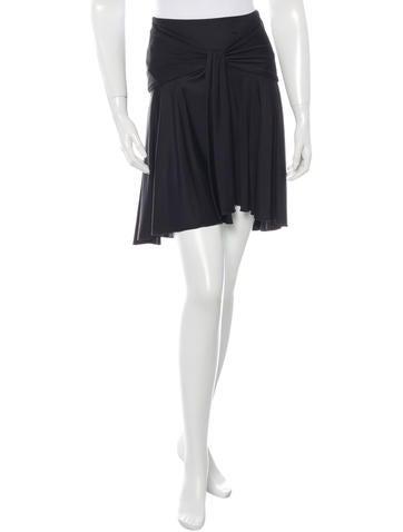Valentino Silk Mini Skirt None