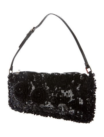 Sequin Embellished Small Bag
