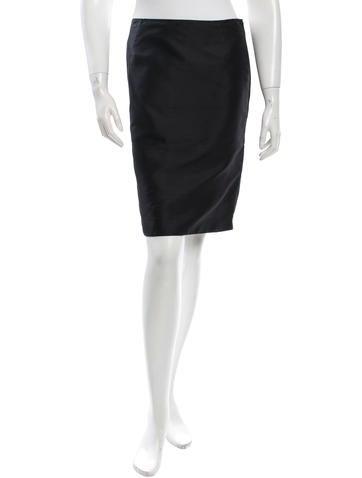 Valentino Button-Accented Mini Skirt None