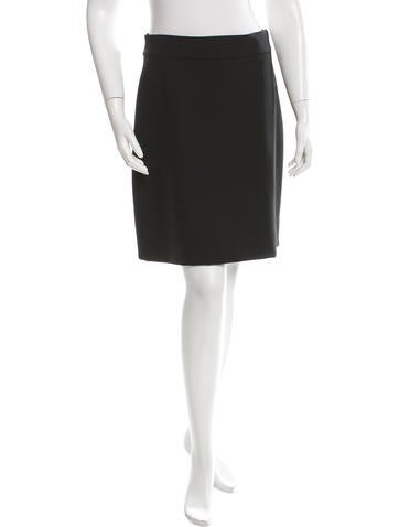 Valentino A-Line Mini Skirt None