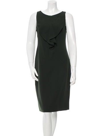 Valentino Knee-Length Sheath Dress None