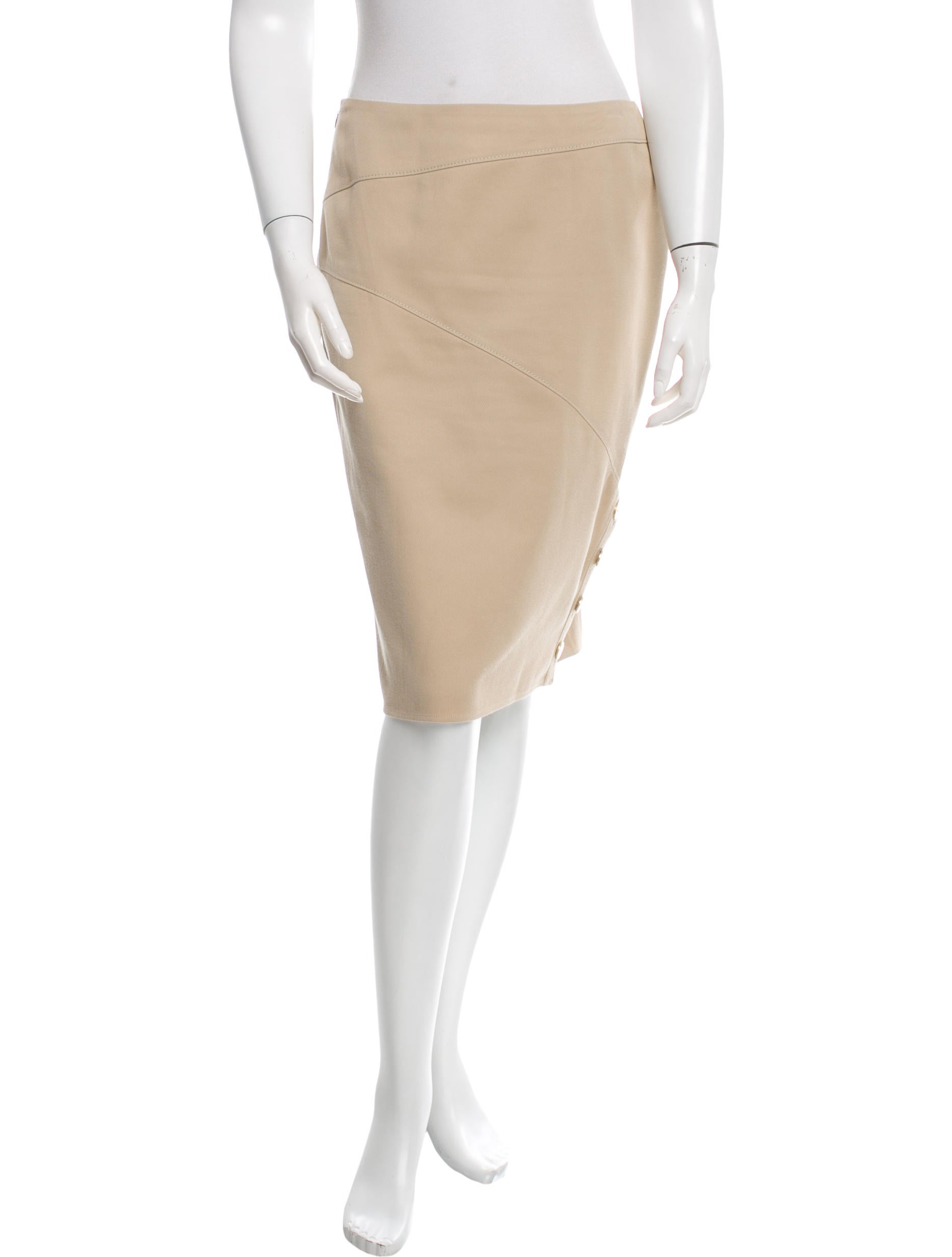 valentino knee length pencil skirt clothing val48168