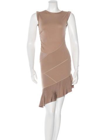 Valentino Virgin Wool Sleeveless Dress None