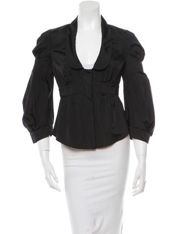 Valentino Silk Long Sleeve Jacket w/ Tags None