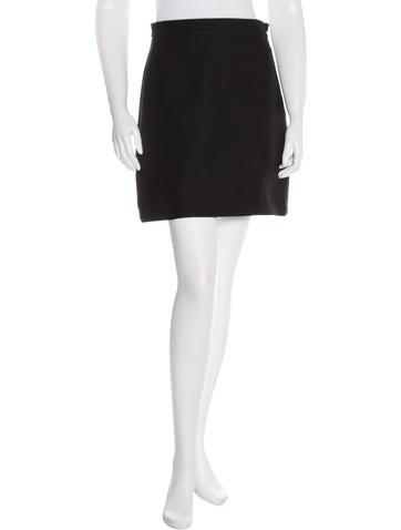 Valentino Woven Mini Skirt None