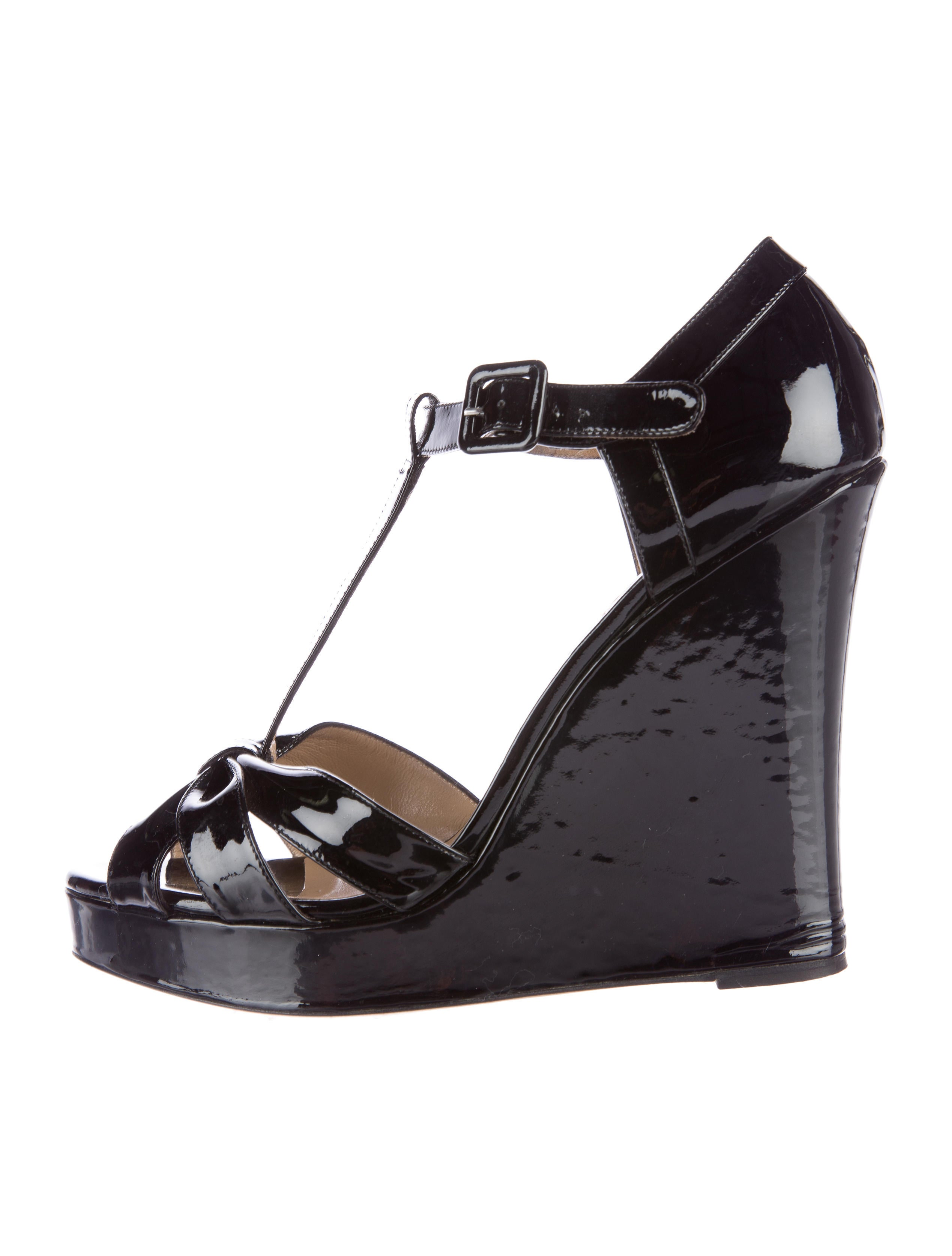 valentino patent wedge sandals shoes val49215 the