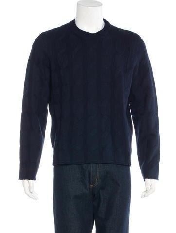 Valentino Cable Knit Sweater None