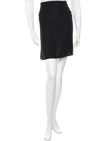 Valentino Elasticized Mini Skirt None