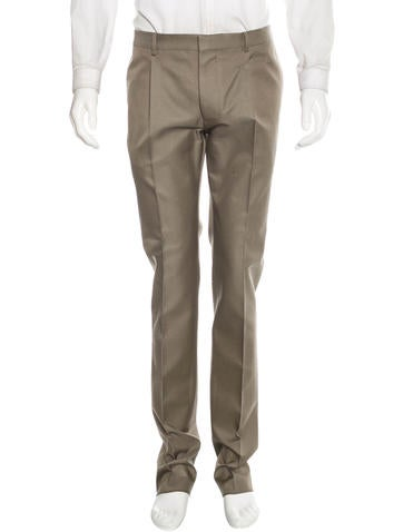 Valentino Wool Tapered Trousers w/ Tags None