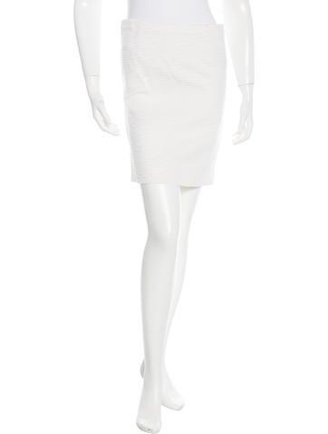 Valentino Textured Mini Skirt None