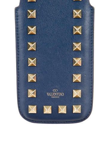 Rockstud Leather Phone Case
