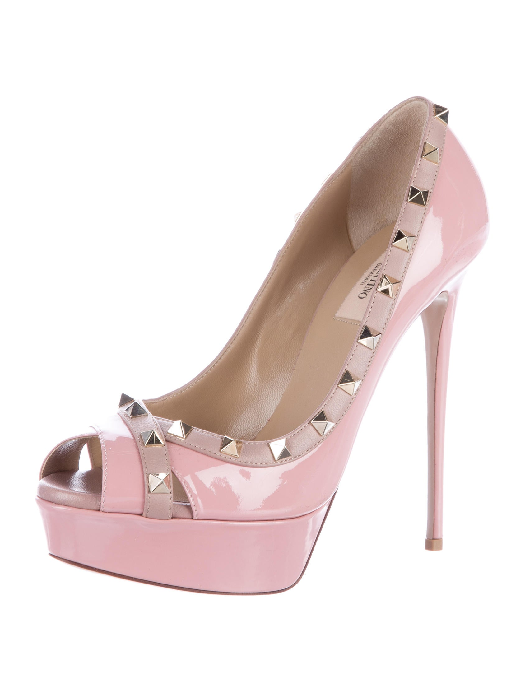 valentino rockstud platform pumps shoes val50823 the