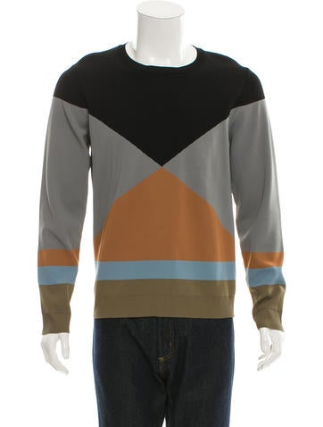 Valentino Patterned Pullover Sweater w/ Tags None