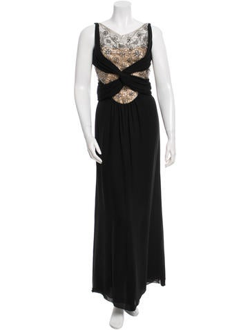 Valentino Embellished Evening Dress None