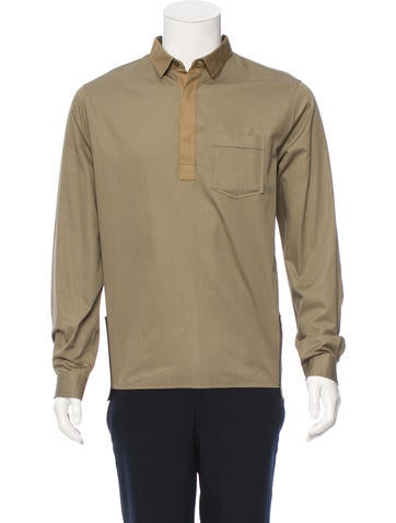 Valentino Long Sleeve Button-Up Shirt w/ Tags None