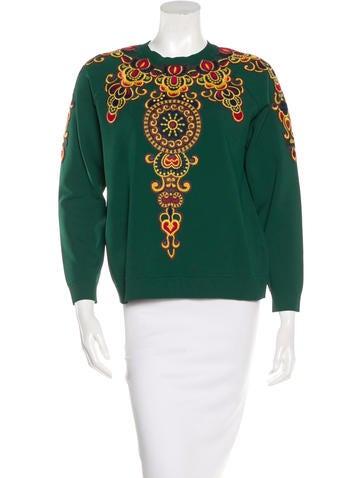 Valentino Moracain Crewneck Sweater None