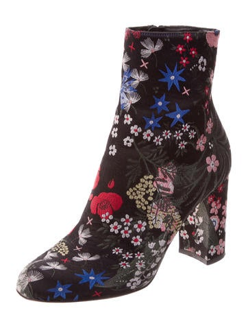 Spring Garden Ankle Boots