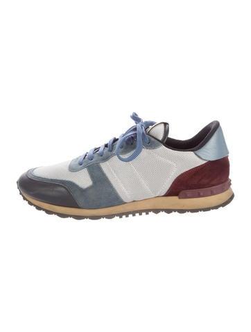 Valentino Rockrunner Mesh Sneakers None