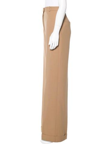 Wool Wide-Leg Trousers