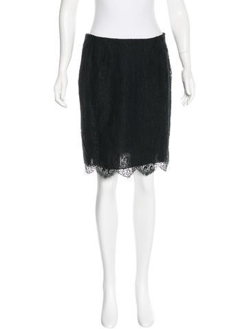 Valentino Silk Lace Skirt w/ Tags