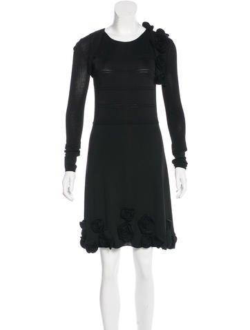 Valentino Rosette Dress Set None