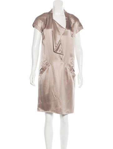 Valentino Knee-Length Silk Dress None