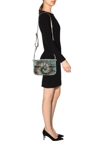 Medium Rockstud Rolling Tie-Dye Shoulder Bag w/ Tags