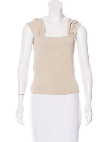 Valentino Cropped Sleeveless Top w/ Tags None